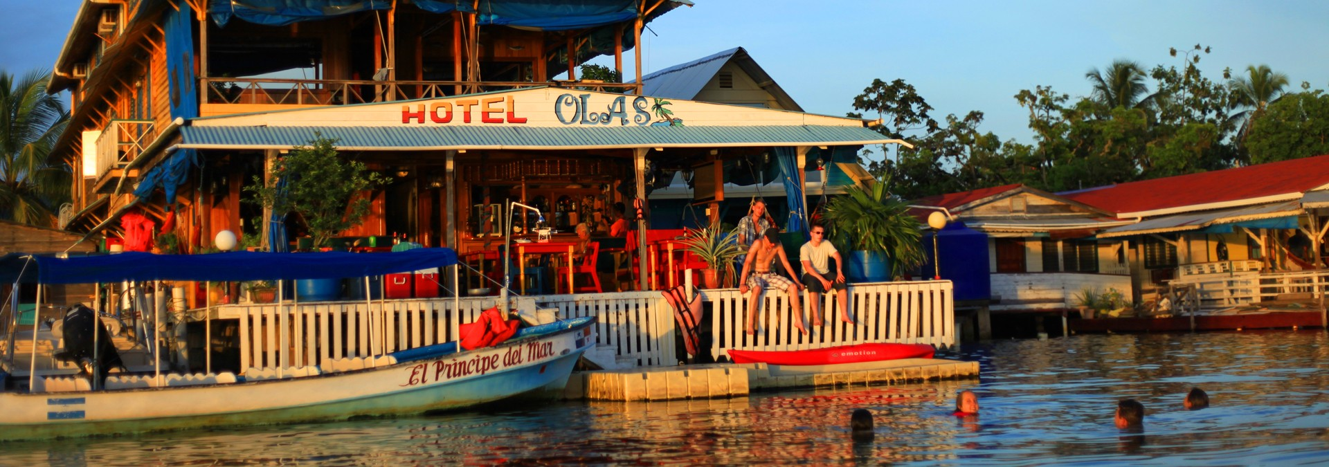 Welcome To Hotel Olas Bocas De Toro